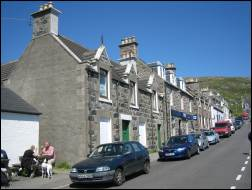 Main street, Castlebay