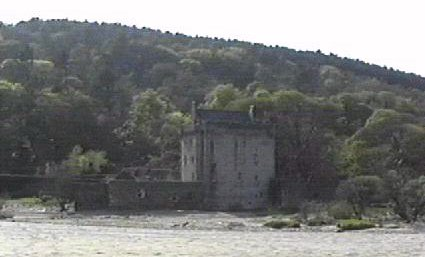 Saddell castle