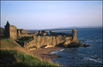 St Andrews castle photo