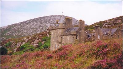 Isle Of Harris Amhuinnsuidhe Castle Photo Page Outer