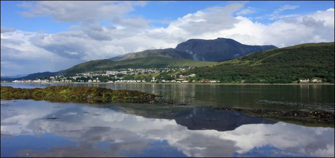Fort William & Ben Nevis on Loch Linnhe