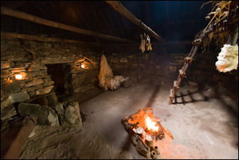 Iron Age Bosta village replica