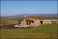 Coillabus eco dwellings on Islay