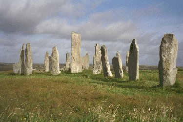 Calanais Or Callanish Standing Stones Isle Of Lewis The