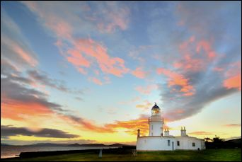Chanonry Point lighthouse, Scotland