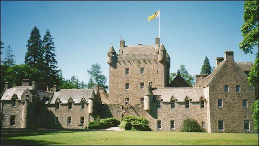 Cawdor Castle Near Inverness Highlands Of Scotland