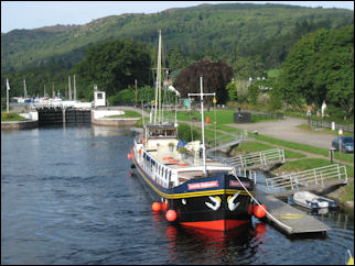 Caledonian Canal, near Loch Ness