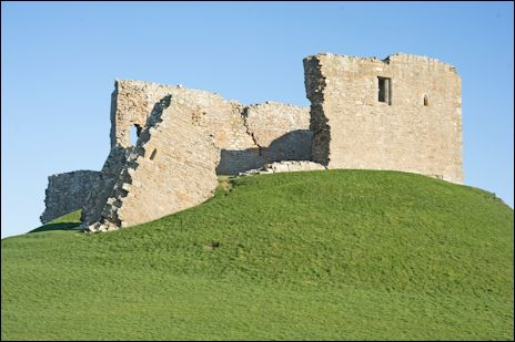 Duffus Castle, Elgin, Scotland