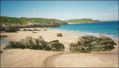 Durness beach photo