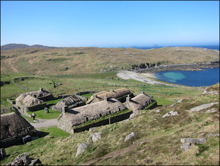 Gearrannan black houses, Isle of Lewis
