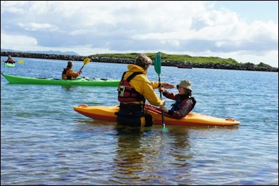Kayaking with Harris Outdoor Adventure