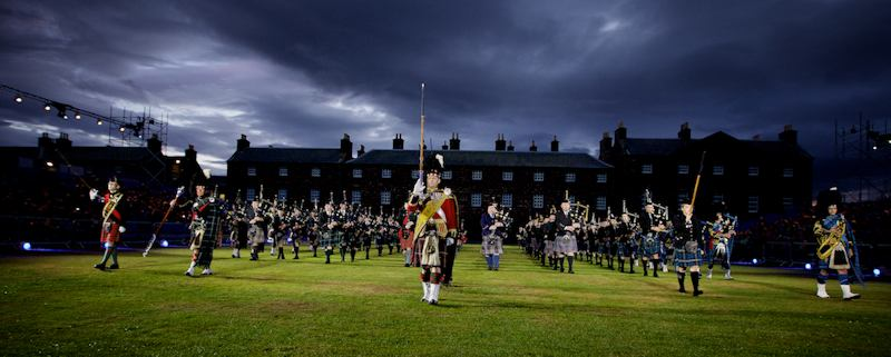 Highland Military Tattoo, Fort George, Inverness Scotland