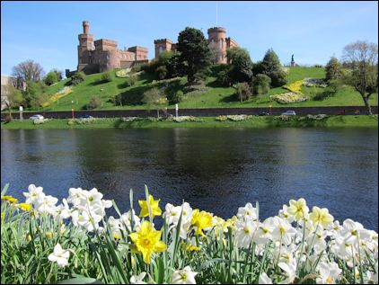 Photo of Inverness Castle on the River Ness