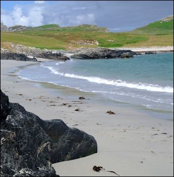 beach at Sanaigmore Bay, Isle of Islay