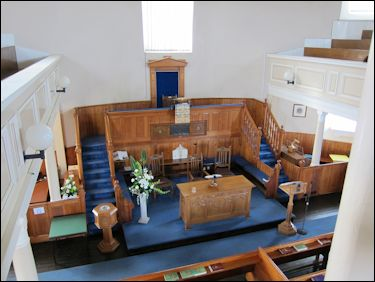 Interior of the Round Church, Bowmore, Islay