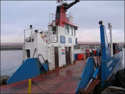 Ferry to Jura, Scotland