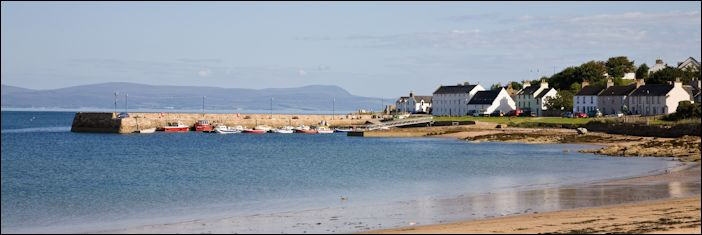 Portmahomack harbour, Scotland