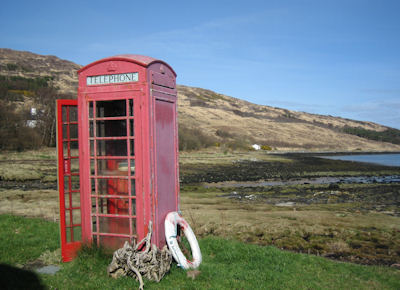 Isle of Rum telephone