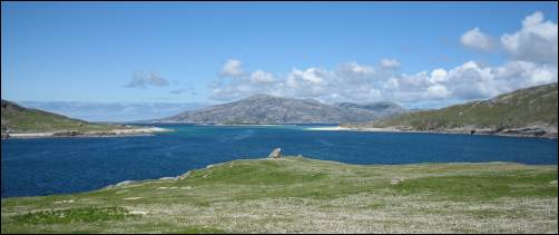 Scarp from Harris