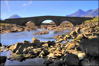 Sligachan Bridge, Isle of Skye  photo