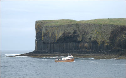 Iolaire boat trip to Staffa