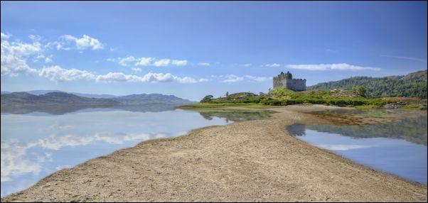 Castle Tioram, Ardnamurchan, Scotland