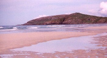 Photo of Traigh Eais from Dun Scurrival