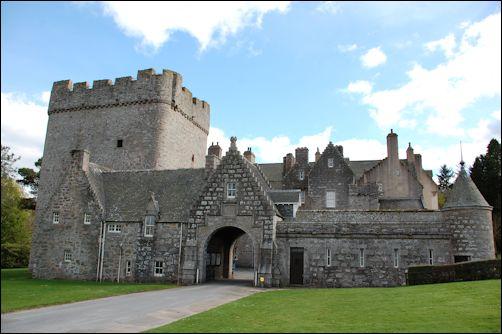 Drum Castle Near Aberdeen Scotland