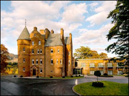 Scottish Castle Accommodation List Of Castle Hotels In Scotland
