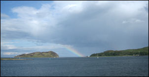 Davaar Island from Campbeltown