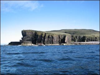 Handa cliffs
