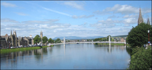Inverness and Ben Wyvis