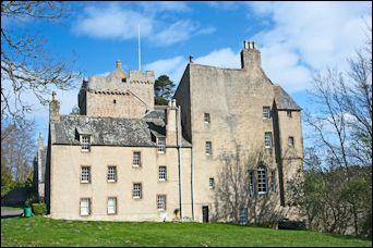 Kilravock castle, Scotland
