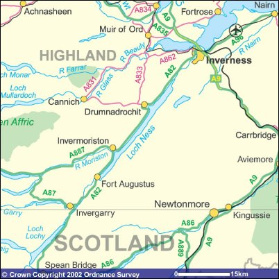 Inverness & Loch Ness Accommodation & Travel in the ...