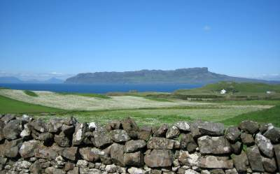 Eigg from the Isle of Muck