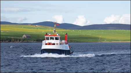Orkney ferry, Scotland