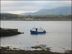 ferry at Port Appin