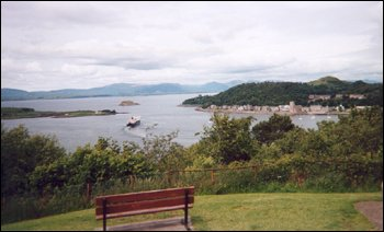 view of Oban