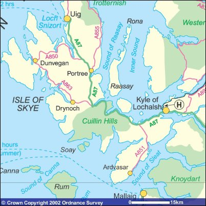 Isle of Skye Accommodation, Travel & Sightseeing - Scottish ... Map Of Skye Tour on map of elsternwick, map of dundee, map of south coast of england, map of faith, map of staffa, map of lewis, map of scott, map of alex, map of macleod, map of tiffany, map of uk, map of emma, map of highland, map of chris, map of alexis, map of sky, map of isle of man, map of avenue, map of mull, map of victoria,
