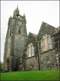 Tarbert parish church