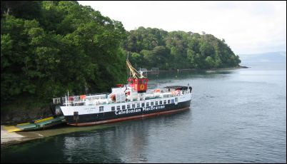 Kilchoan ferry at Tobermory